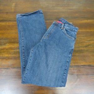 Eddie Bauer Flannel Lined Jeans Size 2